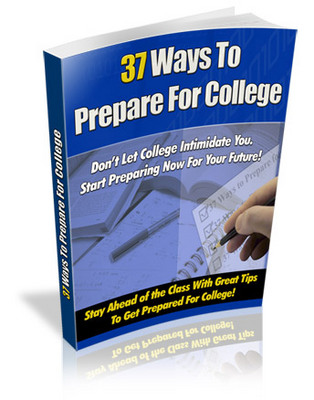 Product picture 37 ways to prepare for College-College years